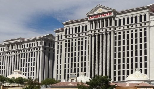 ラスベガスのホテル巡り  Caesars Palace The Mirage Treasure Island TI