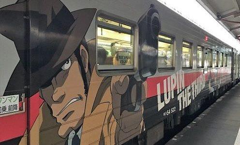 北海道  ルパン三世ラッピング列車JR釧網本線に乗って網走から釧路へ
