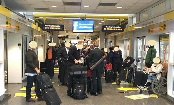 シカゴオヘア空港 乗り継ぎ Airport Transit System